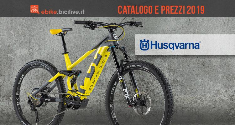 Catalogo e listino prezzi ebike Husqvarna 2019