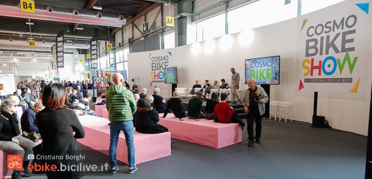 Conferenza Cosmobike ebike moto due mondi a confronti