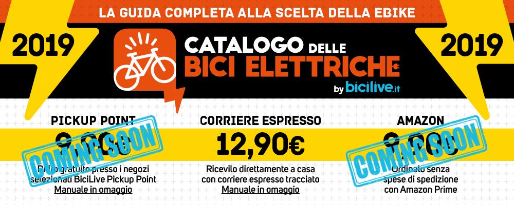 Possibilità di acquisto del Catalogo delle Bici Elettriche 2019