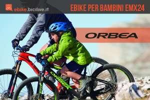 EMX24 è la prima ebike Orbea pensata per i bambini