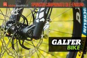 Galfer Bike protagonista nell'e-Enduro e nell'e-EIS