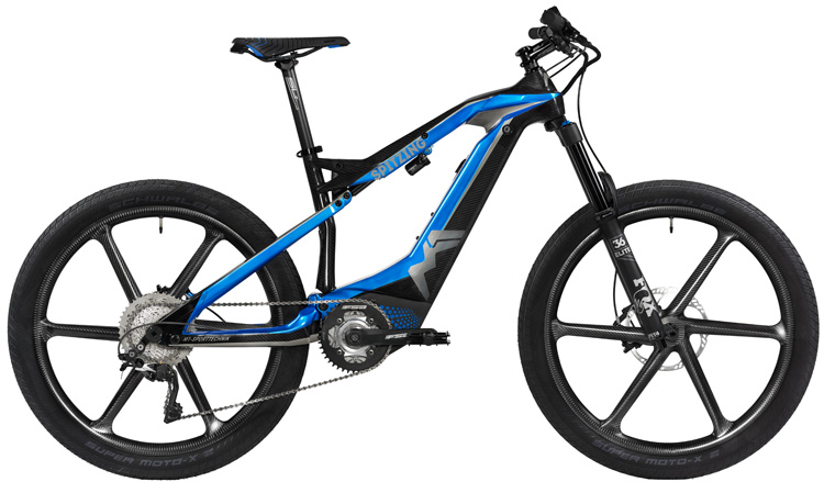 Una mtb elettrica M1 Sport Technik Das Spitzing Evolution World Cup 2019