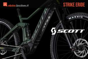 Scott Strike eRide 2019: mountain bike ellettrica full suspended