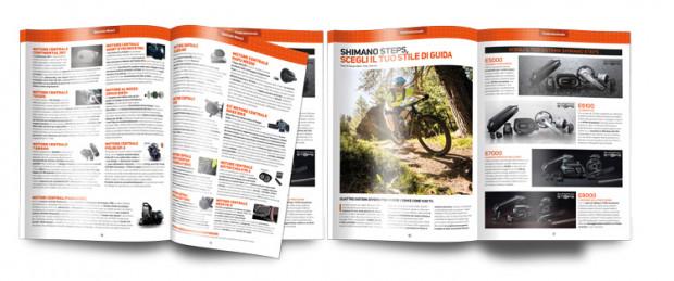 pagine dello Speciale Motori del Catalogo delle Bici Elettriche 2019
