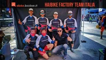 foto del haibike factory teAM ITALIA