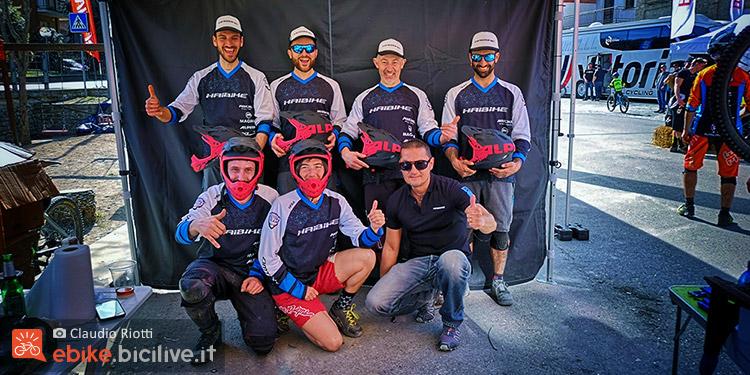 foto del team haibike factory italia 2019