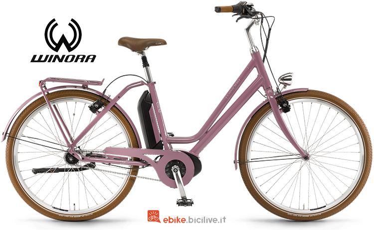 Bici elettrica Saya N7f 400 catalogo 2019