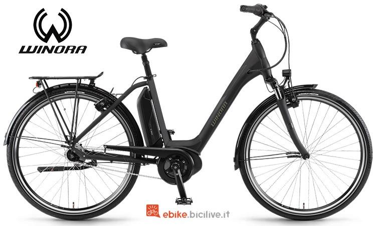 Bicicletta elettrica Sima N7f 400  serie 2019