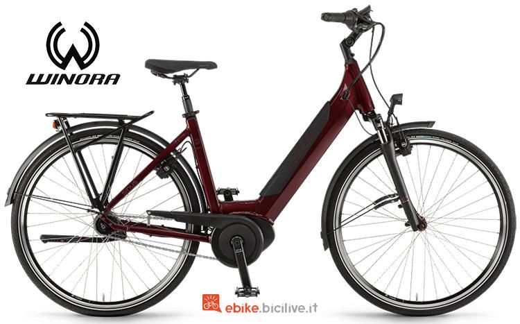 Bicicletta elettrica wimora sinus in7f gamma 2019