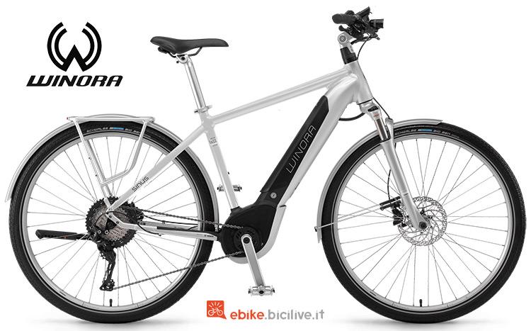 Bicicletta elettrica Winora Sinus iX11 Urban gamma 2019