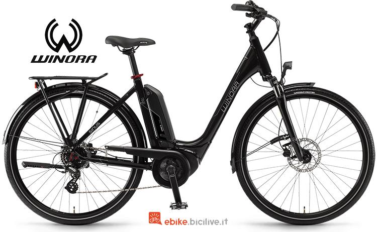 velocipide elettrico Sinus Tria N7f NL anno 2019