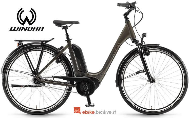 Bicicletta elettrica winora Sinus Tria N8f gamma 2019