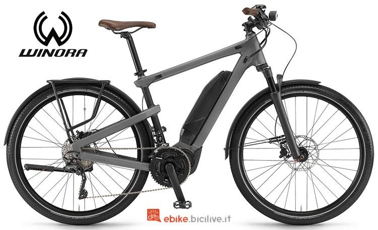 Bicicletta elettrica Winora Yakun Urban serie 2019