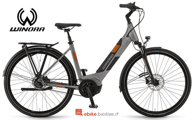 Bici elettrica Winora Yucatan iR8f anno 2019