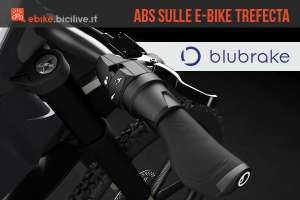 blubrake mette l'ABS sulle speed e-bike Trefecta