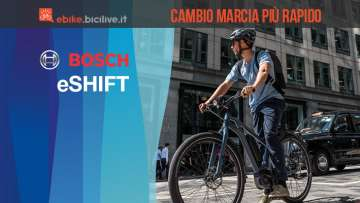 Bosch eShift: cambio integrato per una guida rilassata