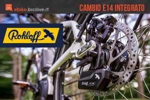 Cambio nel mozzo Rohloff E14: caratteristiche, pro e contro