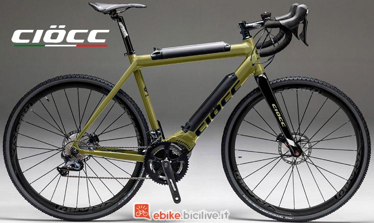 Bici elettrica CIOCC È-veloce B-Power 1000 Gravel Disc gamma 2019