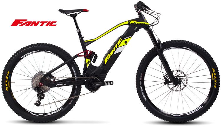 Una mtb elettrica Fantic XF1 Integra 160 Carbon