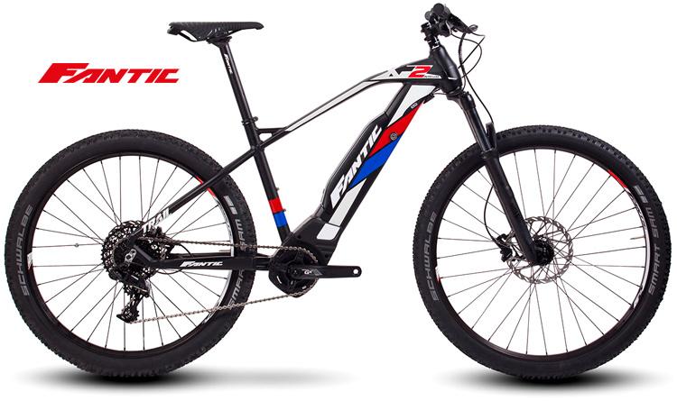Una eMTB front Fantic XF2 Integra gamma 2019
