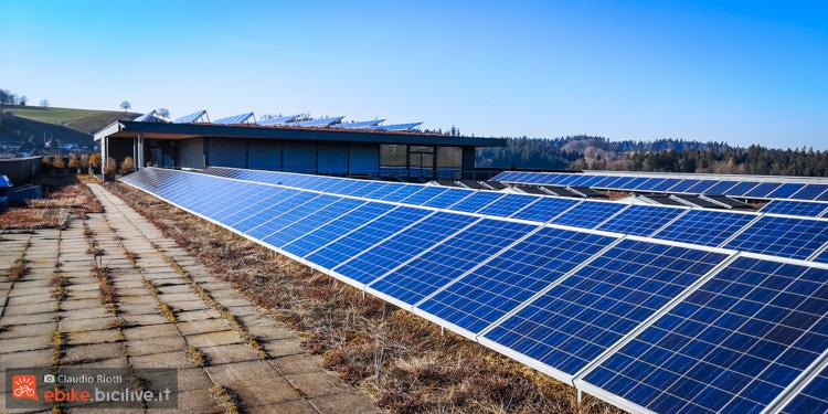 foto dei pannelli solari della ditta flyer