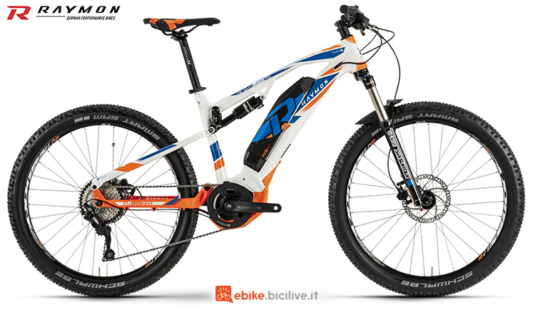 mountainbike R Raymon E-SevenFullRay 6.0 serie 2019