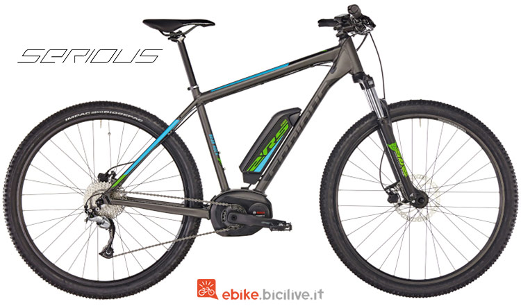 "Serious Bear Rock 29"" emtb"