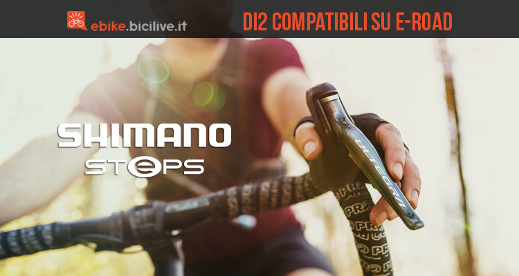 Shimano STEPS: comandi Di2 compatibili con ebike da strada