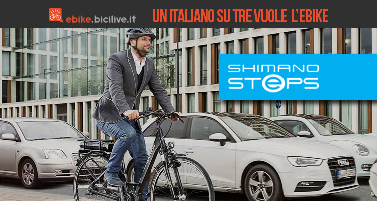 Un italiano su tre vuole andare in ebike