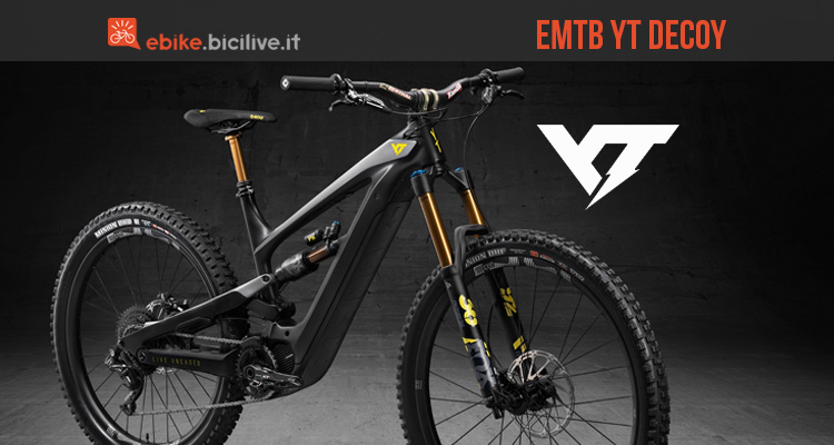 YT Decoy: l'eBike secondo YT Industries