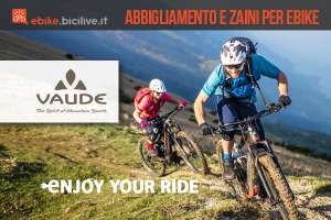 Zaino E-Bracket, maglia e pantaloncini E-Moab: la linea Vaude per ebike