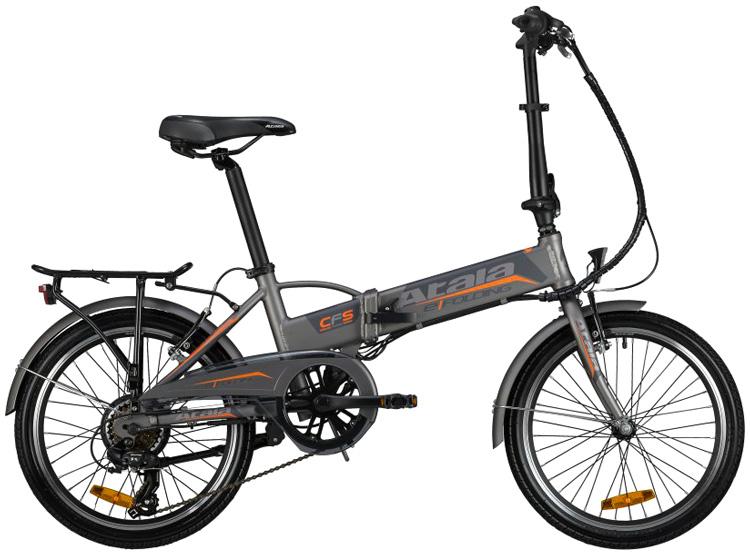 Una bicicletta elettrica ripiegabile Atala e-Folding