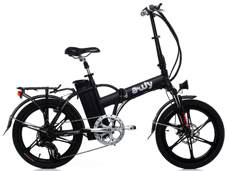 Una ebike pieghevole Bad Bike Awy