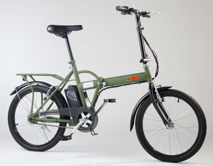 Bici elettrica pieghevole IFM
