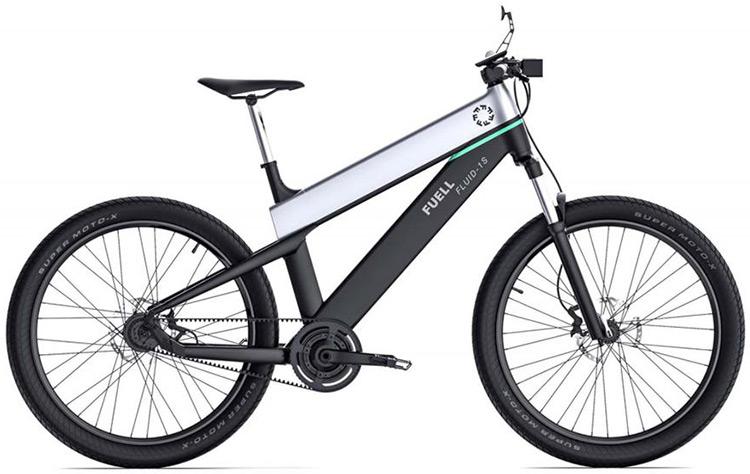 bicicletta Fuell Fluid con autonomia di 200 chilometri
