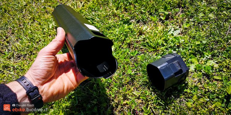 foto del cilindro che sostituisce il blocco motore della Lapierre Ezesty.