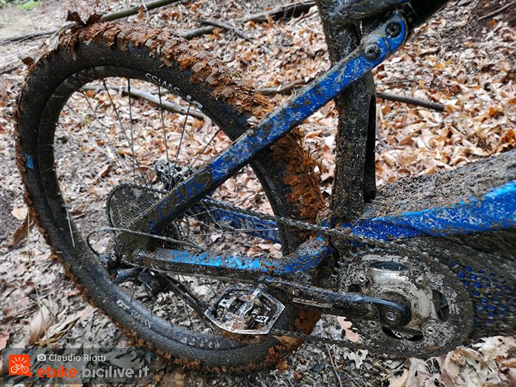 foto della m1 nel fango