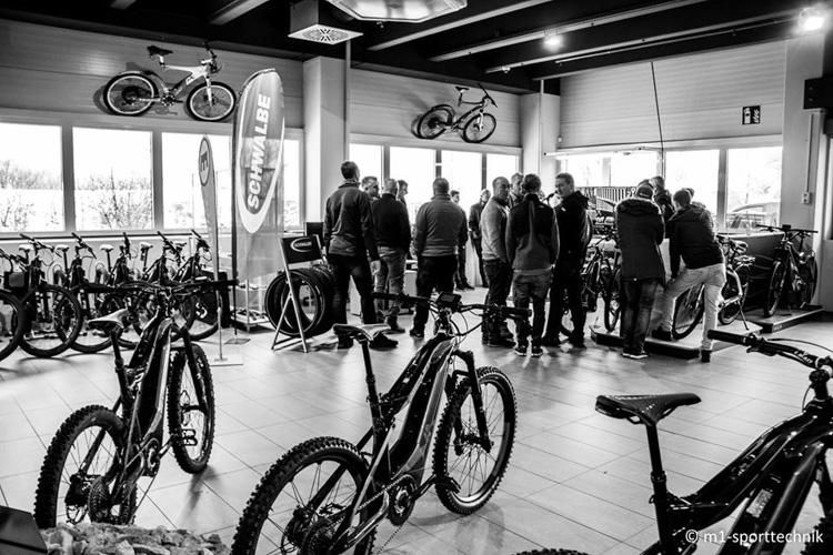 foto dello showroom M1 sport technik