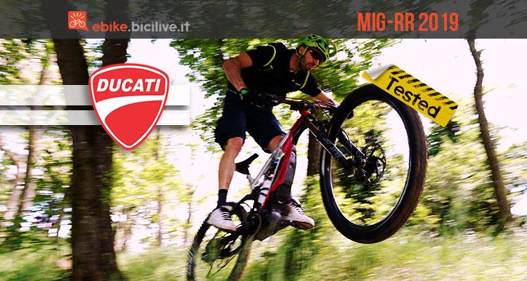 Test Ducati Mig-RR 2019