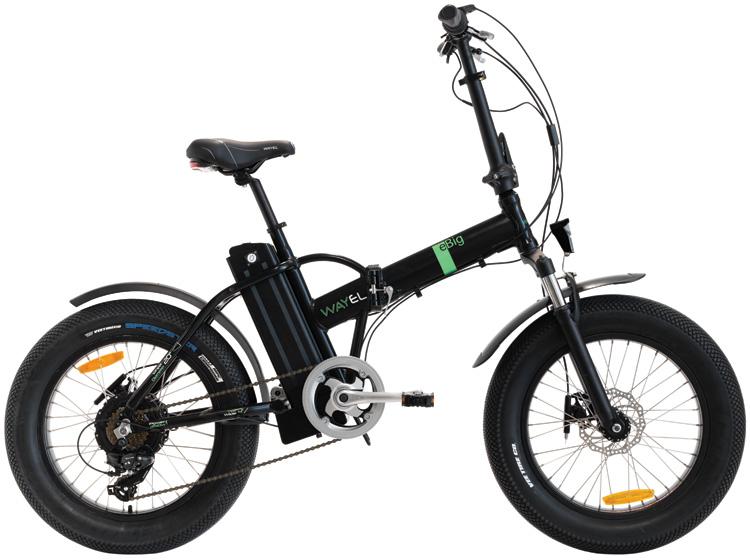 Una e-bike pieghevole Wayel eBig