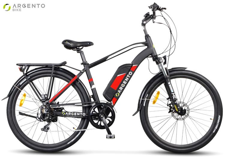 Una city e-bike Argento Bike Alpha dalla gamma 2019