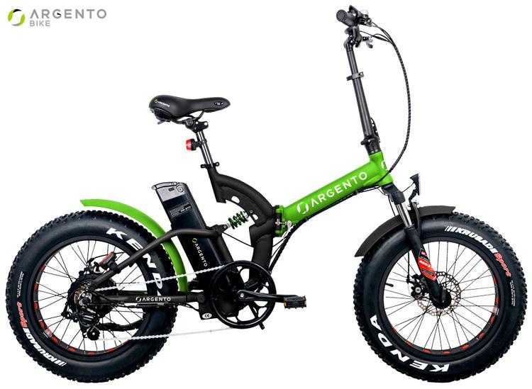 Una e-bike pieghevole Argento Bike Bimax anno 2019