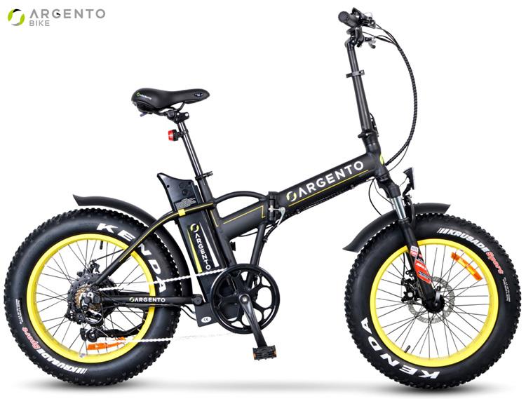 Una bici elettrica pieghevole Argento Bike Mini Max dal catalogo 2019