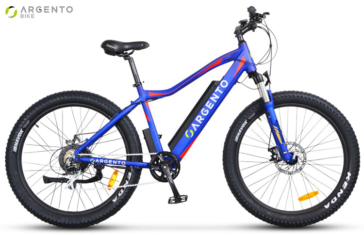 Una mtb elettrica Argento Bike Performance gamma 2019