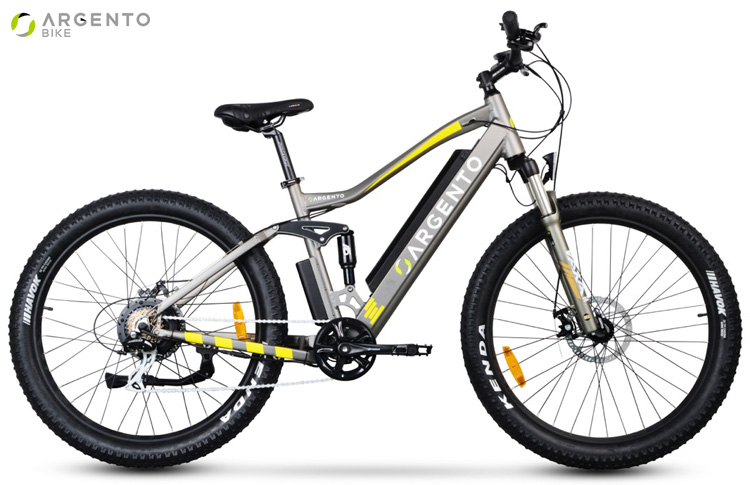 Una mountain bike elettrica del 2019 Argento Bike Performance Pro