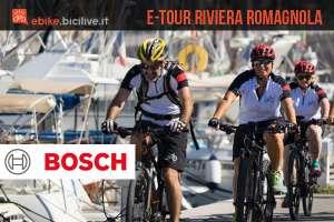 Bosch eBike promuove il cicloturismo elettrico in Riviera Romagnola