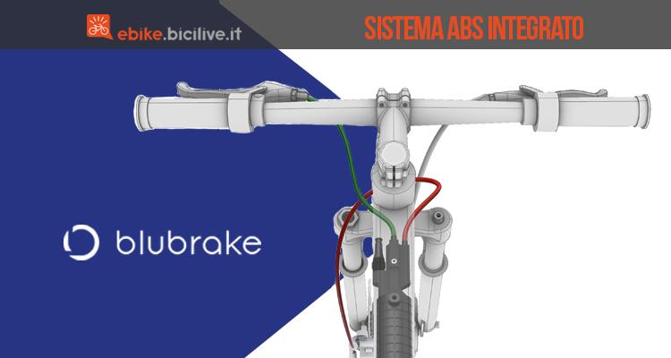 ebike blubrake sistema geometrie abs nel telaio ebike 2019