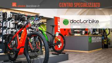 Doctorbike, il centro specializzato per bici ed ebike