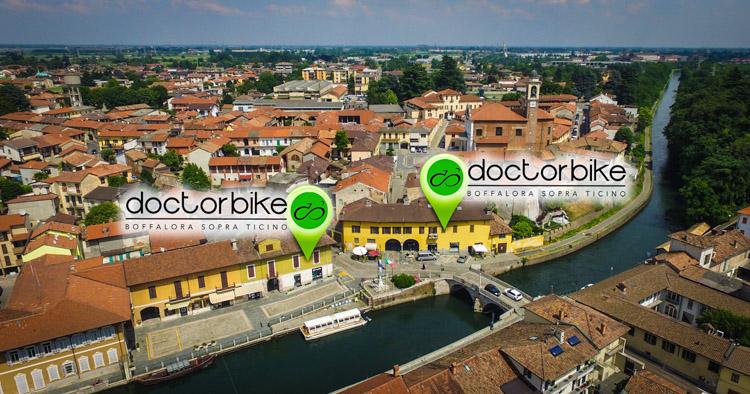 foto aerea della sede di doctorbike