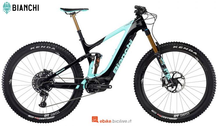 Una e-bike Bianchi T-Tronik Performer 9.3 gamma 2020